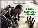 A4 Call Of Duty Advanced Warfare Edible Icing Birthday Cake Topper COD